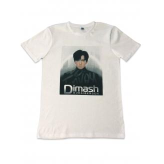DQ футболка белая