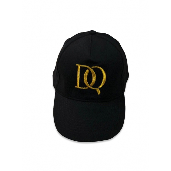 DQ бейсболка черная